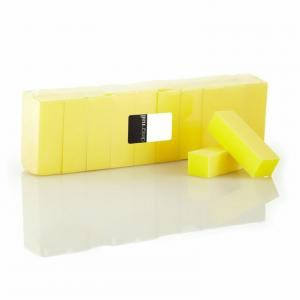 3-Sided Pastel Yellow Sanding Block (20 Pack)
