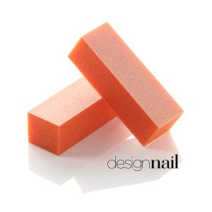 3-Sided Pastel Orange w/White Sanding Block (20 Pack)