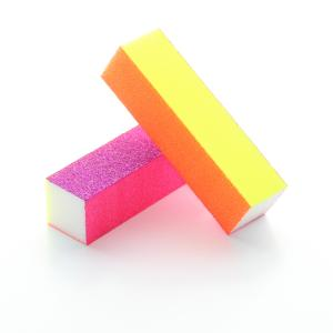 4-Sided Neon Sanding Block -80/120/180/240 grits (20 Pack)