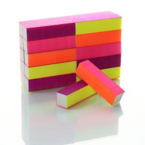 4-Sided Neon Sanding Block -80/120/180/240 grits (20 Pack)