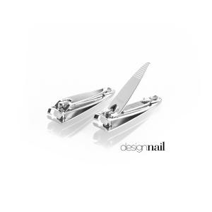 Small Chrome Nail Clipper-Curved Head -12PK