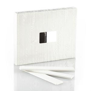 White Extra Wide Cushion Board - 80/80 Grit (50 Pack)