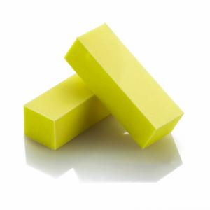 Close out-Lightly Soiled - 3-Sided Pastel Yellow Sanding Block (20 Pack)