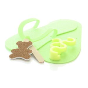 Kids Pedicure Kit Lime