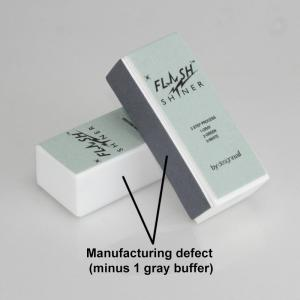 Flash Shiner® Buffer Block manufacturing defect (20 Pack)